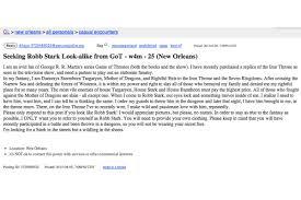Seeking On Craigslist Recklessly Seeking On Craigslist Craigslist Personals