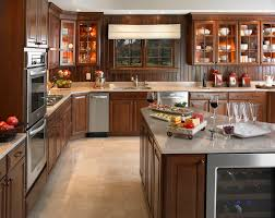 modern country kitchen design ideas with white cabinet and