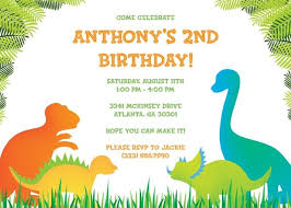 dinosaur birthday invitations cloveranddot