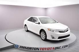 toyota xle used for sale used toyota camry hybrid for sale in oklahoma city ok edmunds