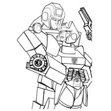 20 free printable transformers coloring pages