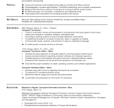 sle resume format for ojt information technology students resume template sler computer technician outstanding aviation