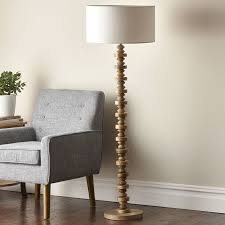 Slim Floor Lamps Deco Floor Lamp Deco Drama With A Natural Twist Tall Slim And