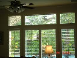 transom window cheap a floral stained glass transom is pictured