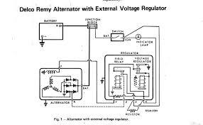 ford external voltage regulator wiring diagram images