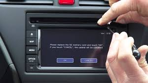 Honda Sd Navigation Update Manual Youtube
