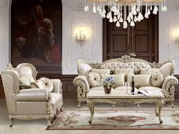 Cream Sofa And Loveseat Amazon Com Gianna Leather Sofa And Loveseat In Pearl Cream