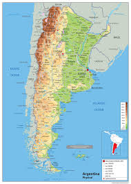 chile physical map argentina physical map tiger moon