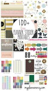 how to make your own planner stickers tutorial planner