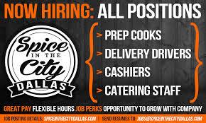 Cook Prep Resume Work Sitc Spice In The City Dallas Restaurant U0026 Bar