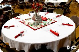 table decorations for christmas party decorating of party