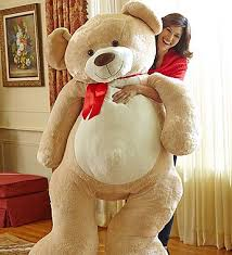 valentines big teddy beary big with chocolate great gifts for s day