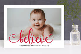 bright believe photo cards by f minted