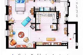 Floor Hand by Check Out These Hand Drawn Floor Plans From Popular Tv Shows