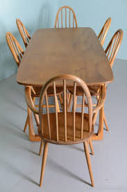 Ercol Dining Chair Antiques Atlas Beautiful 1960 S Elm Ercol Dining Table Chairs