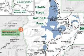Map Of Grand Canyon Grand Teton U0026 Yellowstone National Park Map Jackson Hole Traveler