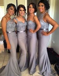 grey and pink bridesmaid dresses cocktail dresses 2016