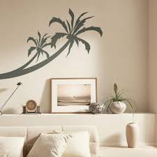 Modern Ideas For Interior Decorating With Stencils - Interior wall painting designs