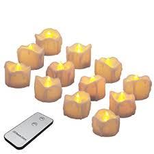 led pumpkin tea lights amazon com battery candles with remote flameless led tea lights