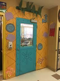 Spongebob Bathroom Decor by Spongebob Squarepants Pineapple Classroom Door What To Teach