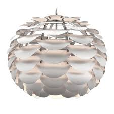 Artichoke Pendant Light Artichoke Pendant White Metal Clayton Gray Home