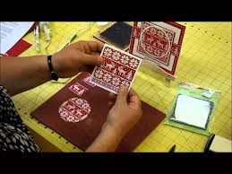 how to make a christmas card with papercraft templates and dies