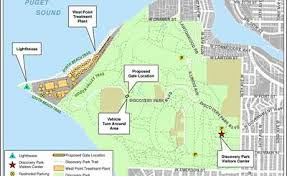seattle map discovery park neighbors voice concerns about proposed discovery park security