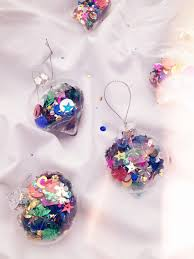 balls decoration ideas endearing diy with clear glass