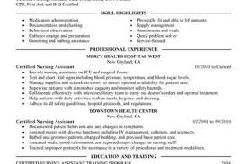 Sample Health Care Aide Resume by Health Care Resume For Skills Reentrycorps