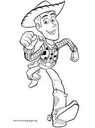 toy story woody coloring