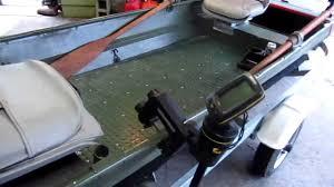 Jon Boat Bench Seat Cushions Modified 14ft Jon Boat Youtube