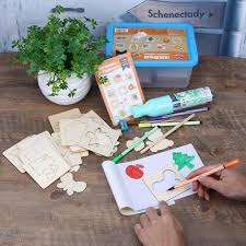 aliexpress com buy 56pcs wooden kids drawing plant fruit animal