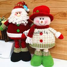 2015 santa claus snowman gift for decoration new year