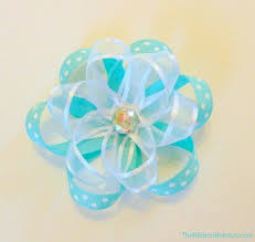 flower bow ribbon flower bow the ribbon retreat