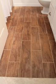 Ceramic Tile That Looks Like Wood Perfect For A Kitchen Bathroom - Hardwood flooring in bathroom