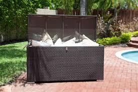 patio furniture cushion storage ideas u2014 home designing patio