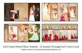 10x10 photo album simply refined 10x10 digital wedding album template 10 spread