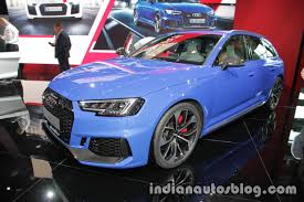 2018 audi rs4 avant showcased at the iaa 2017 live