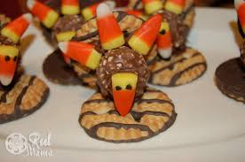 thanksgiving chocolate corn turkey cookies