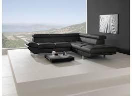 canapé d angle noir simili cuir canapé d angle carrier similicuir noir weba meubles