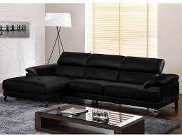 amazon canapé canapé d angle en cuir supérieur excelsior ii noir angle droit prix