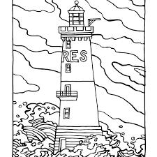 dessin mer plage az coloriage