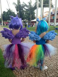 my little pony costume twilight sparkle and rainbow dash