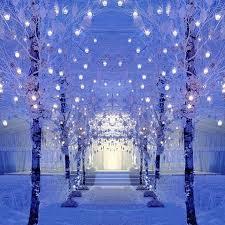 Blue Christmas Wedding Decorations by 60 Adorable Winter Wonderland Wedding Ideas Happywedd Com