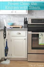 what is the best thing to clean kitchen cabinets with power clean the kitchen with steam clean and scentsible