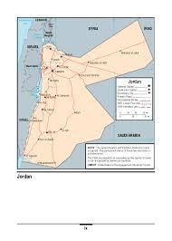 Jordan Country Map Marine Corps Intelligence Activity Jordan Country Handbook
