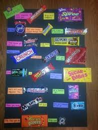 candy for birthdays poster board birthday candy poster sons 16th birthday bash i