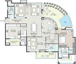 4000 Sq Ft House Plans 4000 Sq Ft 5 Bhk 6t Apartment For Sale In Indiabulls Infraestate