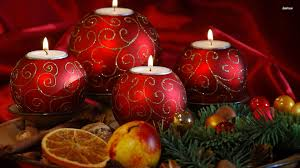 download wallpaper 3840x2400 candles bells christmas decorations