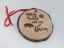 bacon theme ornament favor universe